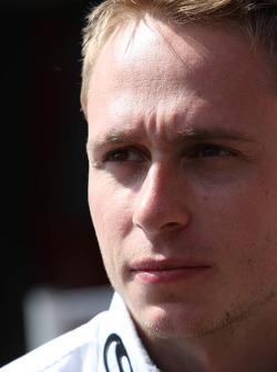 Adam Carroll, driver of A1 Team Ireland