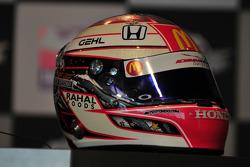 Graham Rahal's new helmet