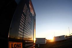 V8 Supercars mobile media center truck