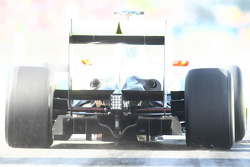 Brawn GP rear diffuser