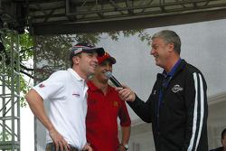 Robert Doornbos and Graham Rahal of Newman/Haas/Lanigan Racing