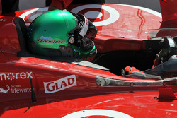 Dario Franchitti, Target Chip Ganassi sports a new helmet