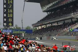 Rubens Barrichello, Brawn GP and Jenson Button, Brawn GP