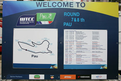 Circuit and Timetable