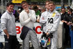 Axel Randolph, Race Engineer of Paul di Resta, Team HWA AMG Mercedes; Paul di Resta, Team HWA AMG Mercedes C-Klasse and Maro Engel, Mücke Motorsport, AMG Mercedes C-Klasse