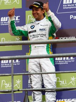 Podium, 2nd, Augusto Farfus, BMW Team Germany, BMW 320si