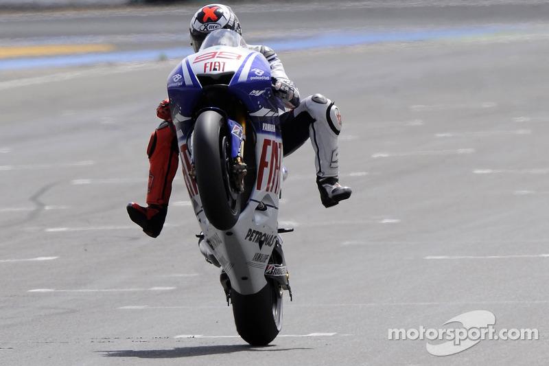 2009: Jorge Lorenzo (Yamaha YZR-M1)