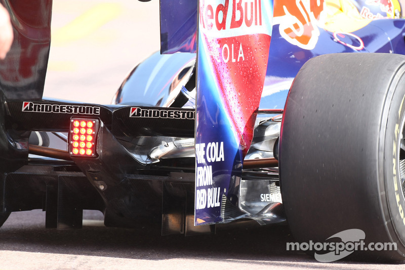 Rear Diffuser of Sebastian Vettel, Red Bull Racing