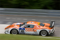 #40 Raeder Automotive GmbH Ford GT: Herman Tilke, Dirk Adorf, Marc Henerici, Thomas Mutsch