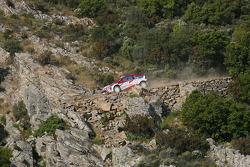 Sébastien Olgier and Julien Ingrassia, Team Adapta, Citroen C4 WRC