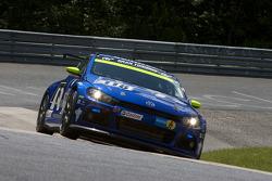 #118 Volkswagen Motorsport Volkswagen Scirocco GT24: Jimmy Johansson, Florian Gruber, Nicki Thiim, Martin Karlhofer