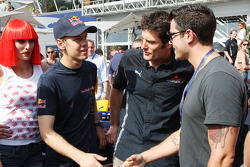 Sebastian Vettel, Red Bull Racing, Mark Webber, Red Bull Racing, Jesse Metcalfe Actor
