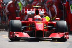Pitstop of Kimi Raikkonen, Scuderia Ferrari