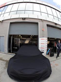 Kolles TME Audi A4 DTM still under cover