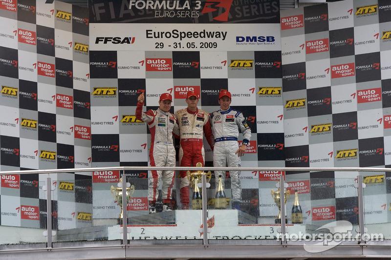 En la F3 en 2009. El ganador de aquella carrera fue Jules Bianchi
