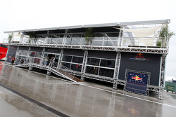The new Red Bull Racing and Scuderia Toro Rosso motorhome