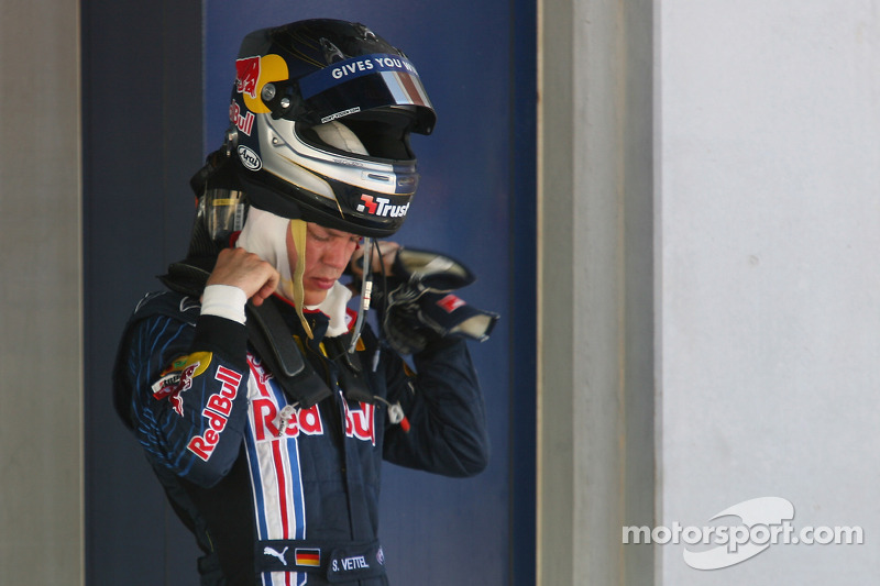 Третій призер Себастьян Феттель, Red Bull Renault