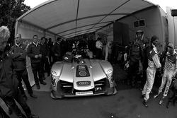 #2 Audi Sport Team Joest Audi R15 TDI at scrutineering