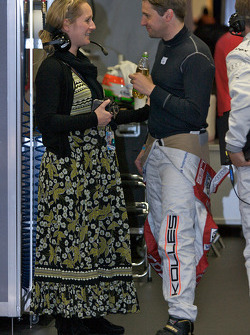 Christijan Albers with wife Liselore Kooijman
