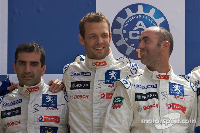2009: David Brabham, Marc Gené, Alexander Wurz