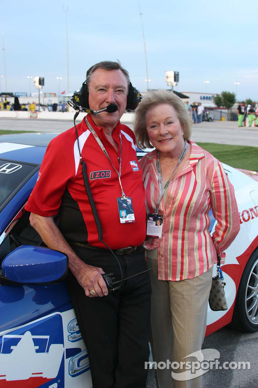 Johnny et Betty Rutherford