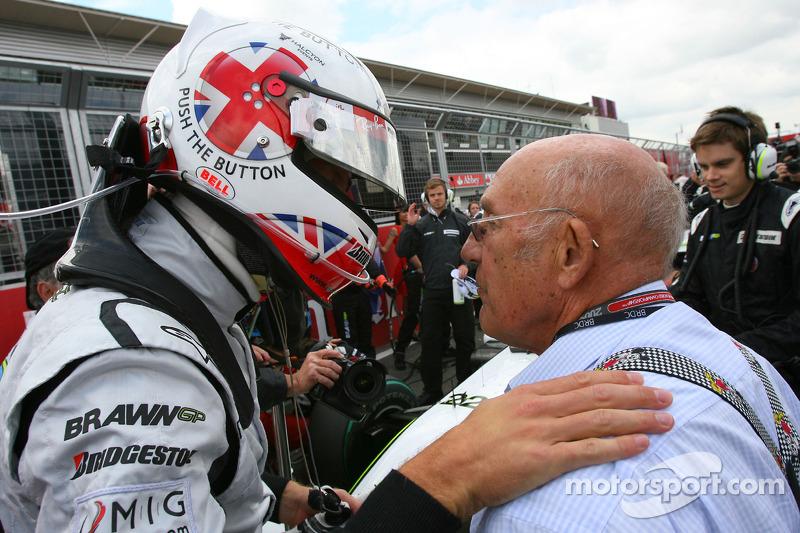 Jenson Button, Brawn GP y Sir Stirling Moss