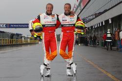Tim Coronel, Sunred Engineering with his twin brother Tom Coronel, Sunred Engineering
