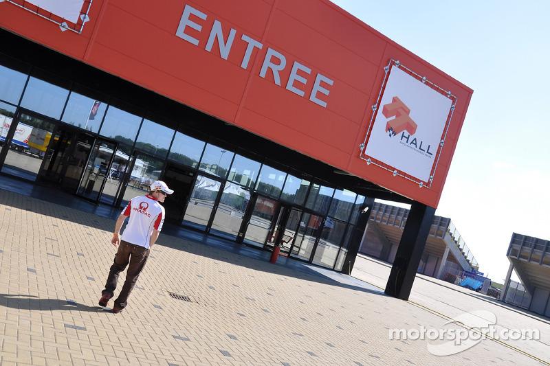 Mika Kallio, Pramac Racing visita museo y pista de TT Assen