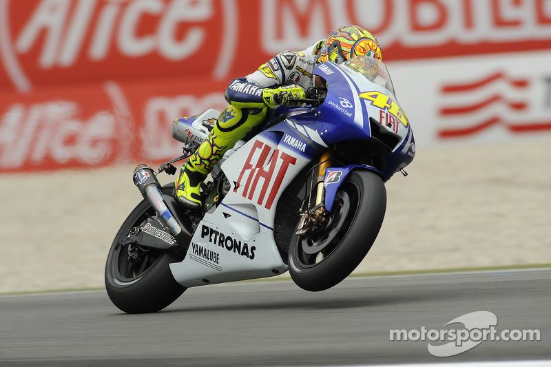 2009. Yamaha YZR-M1 - чемпіон, 6 перемог, 306 очок