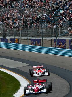 Hideki Mutoh, Andretti Green Racing, Helio Castroneves, Team Penske