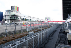 Rollercoaster runs along the side of the track, New development and facilities around the Nurburgring