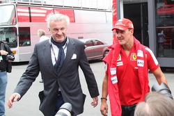 Willi Weber, Driver Manager with Michael Schumacher, Test Driver, Scuderia Ferrari