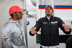 Lewis Hamilton, McLaren Mercedes, Jenson Button, Brawn GP