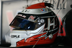 Lee Holdsworth's helmet