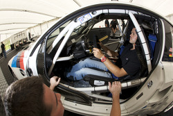 Seat fitting for Dirk Muller