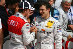 Oliver Jarvis, Audi Sport Team Phoenix and Gary Paffett, Team HWA AMG Mercedes