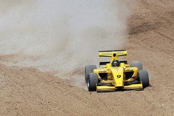 Pietro Gandolfi goes off track
