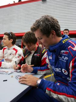 Julien Jousse in the autograph session