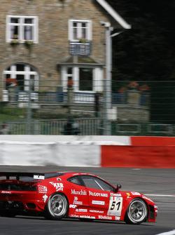 #51 AF Corse Ferrari F430: Alvaro Barba Lopez, Niki Cadei, Matias Russo, Pierre Kaffer