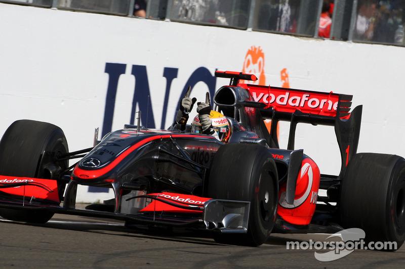 2009: Lewis Hamilton, McLaren Mercedes MP4-24