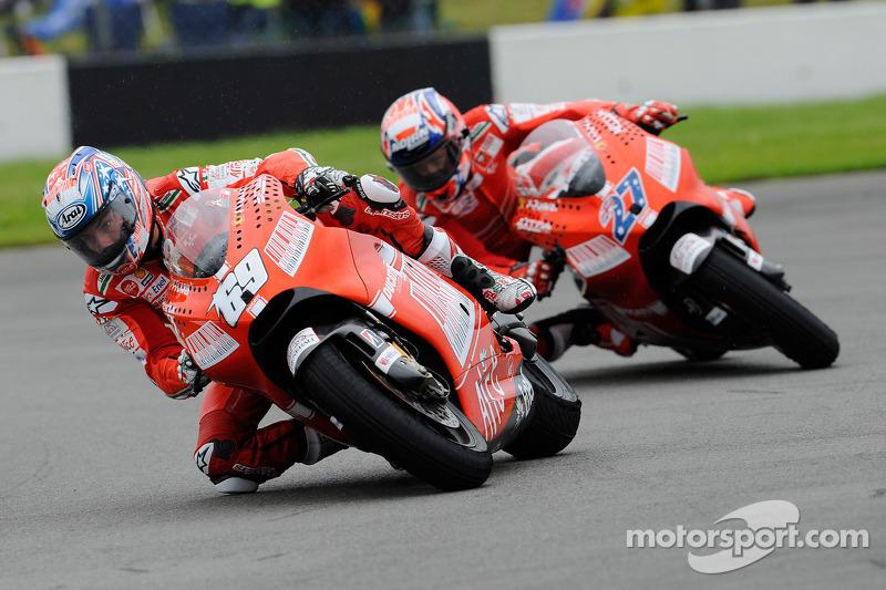 Ducati, 2009: Nicky Hayden e Casey Stoner