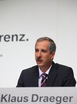 Dr. Klaus Draeger (head, development)