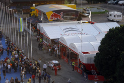 Citroen Total World Rally Team hospitality and service area