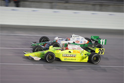 Tony Kanaan, Andretti Green Racing and Ed Carpenter, Vision Racing