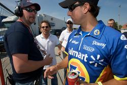 Jacques Villeneuve and Andrew Ranger