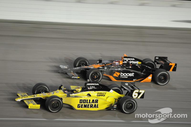 Sarah Fisher, Sarah Fisher Racing and Danica Patrick, Andretti Green Racing