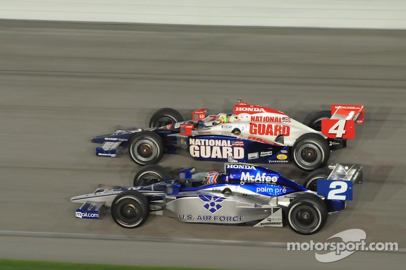 Dan Wheldon, Panther Racing and Rapheal Matos, Luzco Dragon Racing