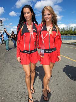 Lovely Budweiser girls