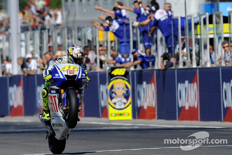 2009: Valentino Rossi, Yamaha YZR-M1