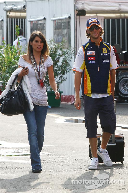 Marion Jolles und Romain Grosjean